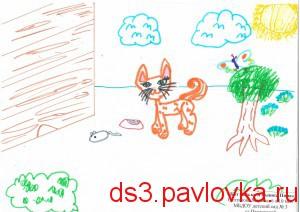 Кот Васька и мышка Султанова М.