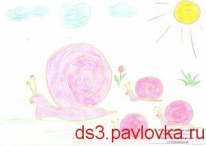 Семья дружных улиток Карасек Аня